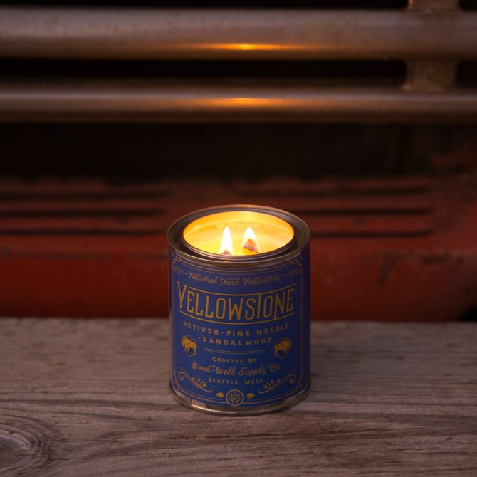Good + Well Supply Co. Yellowstone National Parks Candle