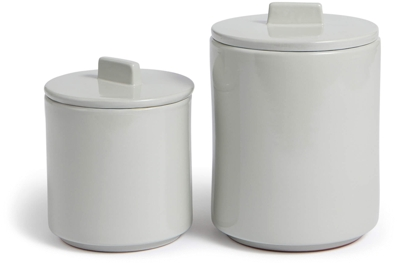 Soho Home Glazed Terracotta Storage Jars