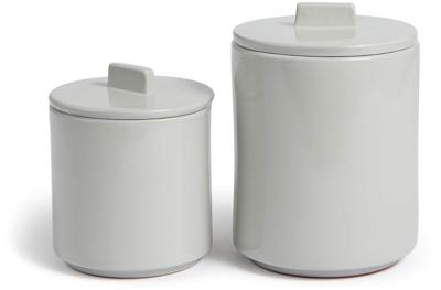 Soho Home Glazed Terracotta Storage Jars