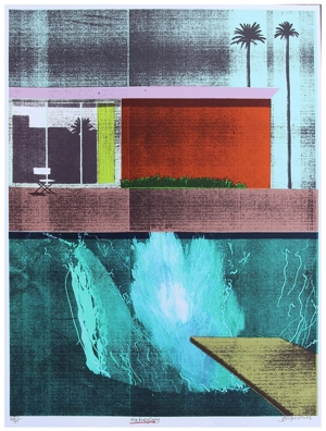 Soho Home Signed Hockney Copy ii