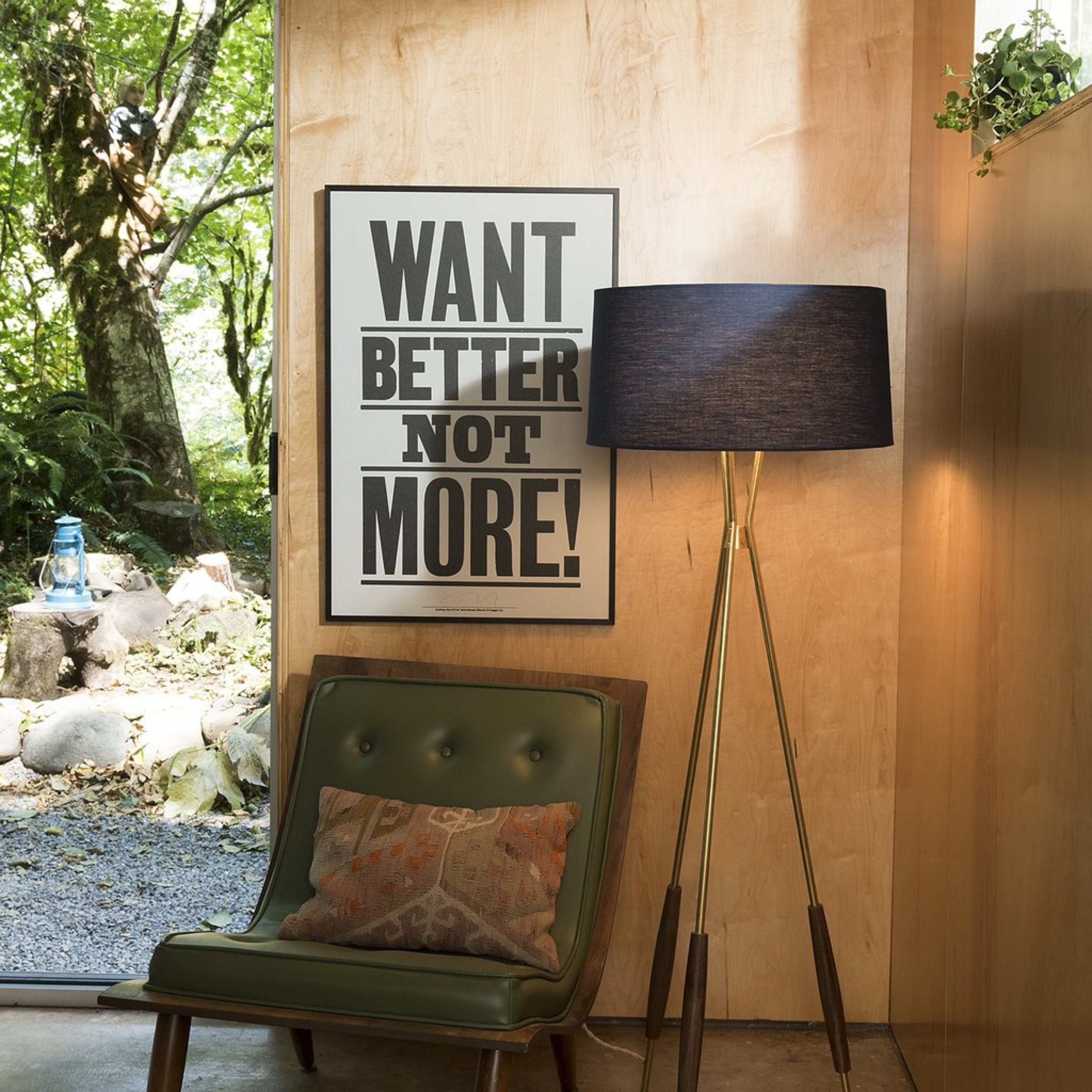 Want Better, Not More by Anthony Burrill