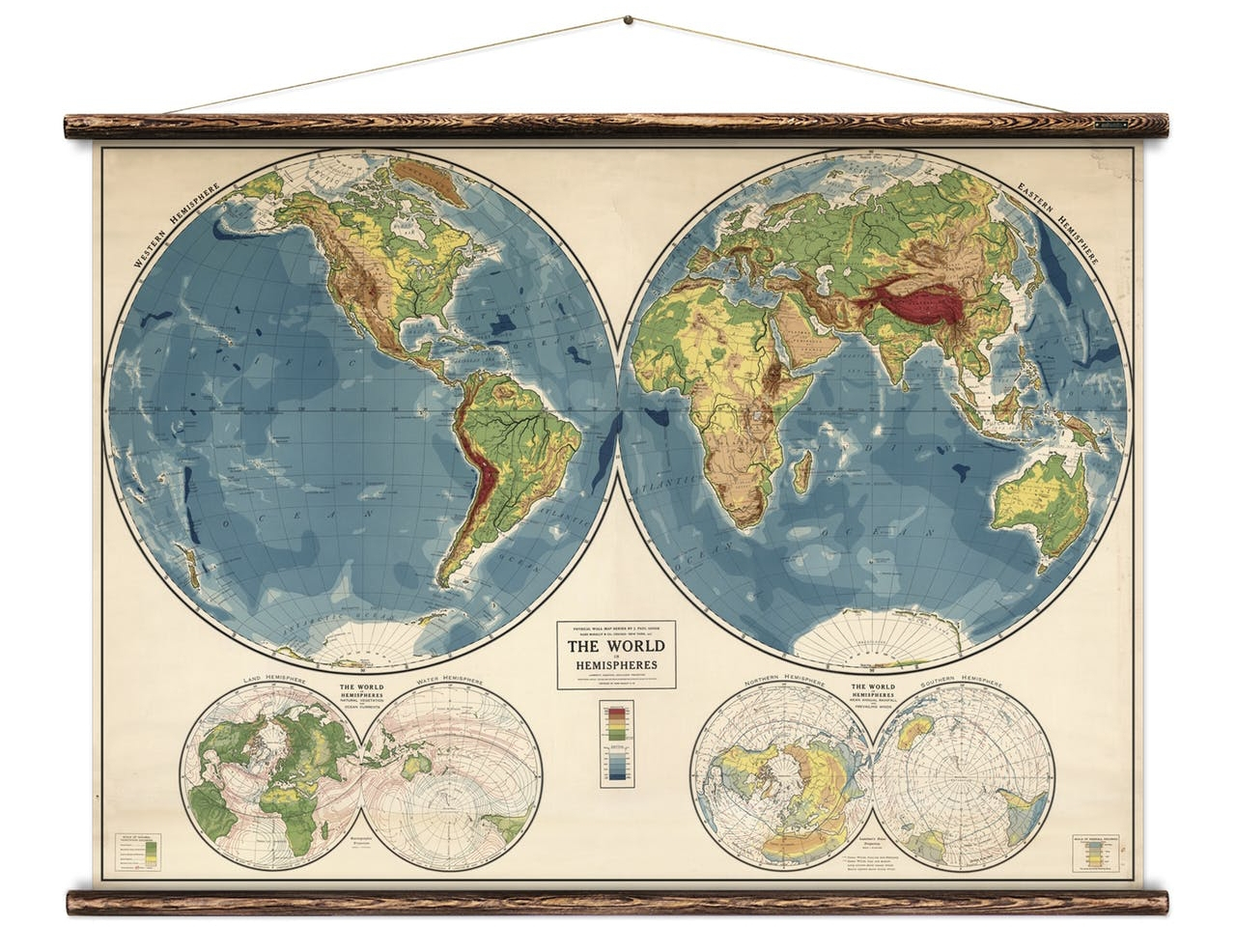 World Map by Erstwhile