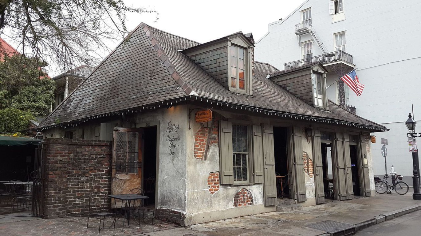 Lafitte's Blacksmith Shop in New Orleans