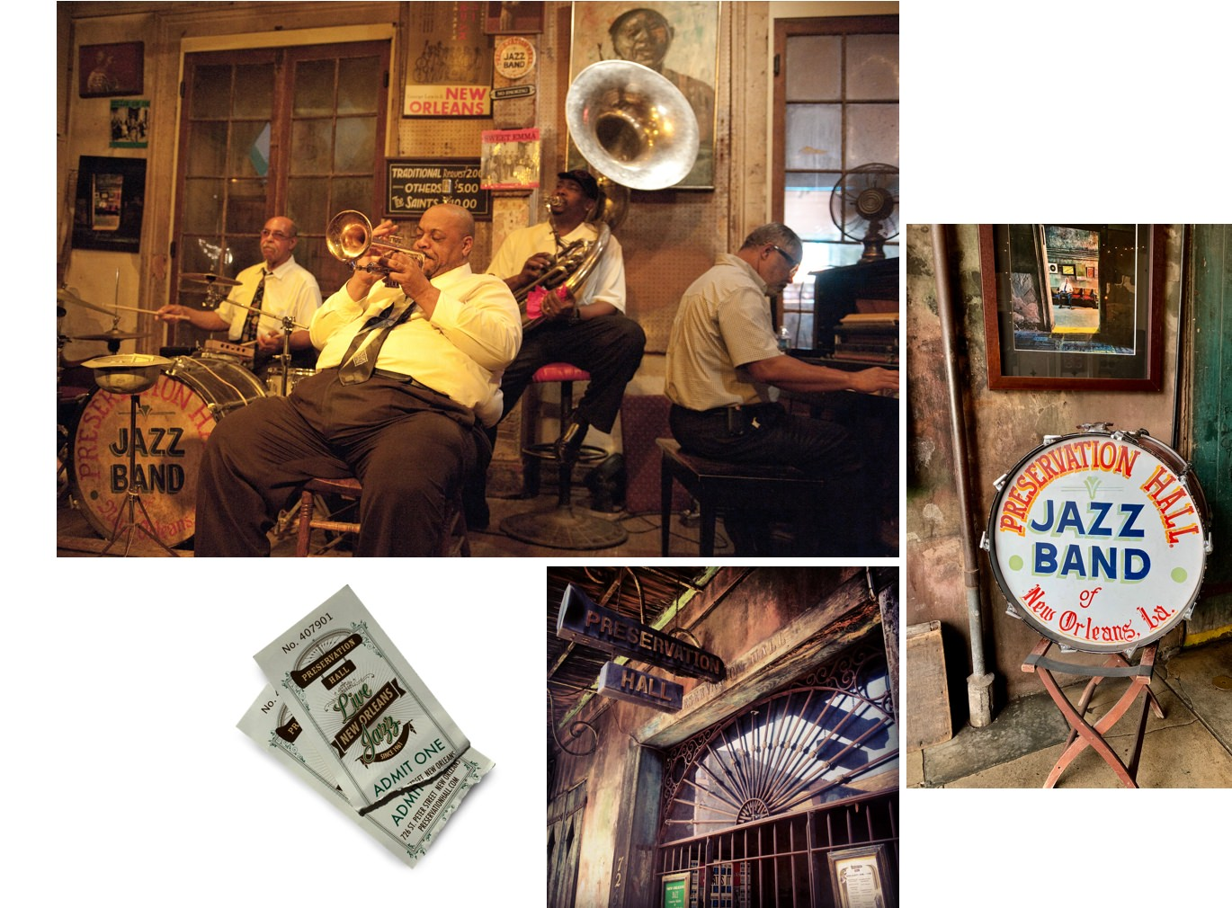 Preservation Hall Jazz Club New Orleans