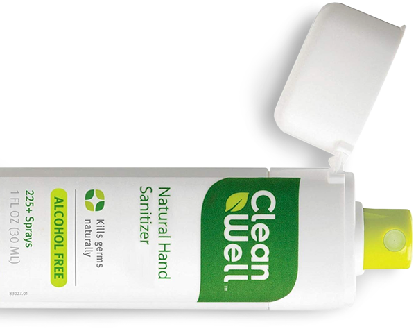 CleanWell Hand Sanitizer Spray
