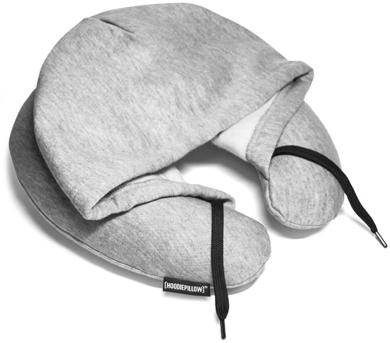 HoodiePillow Memory Foam Travel Pillow
