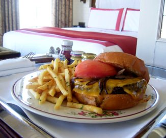 The Bowery Hotel burger