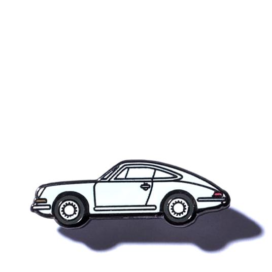 Pintrill x Gear Patrol Porsche Enamel