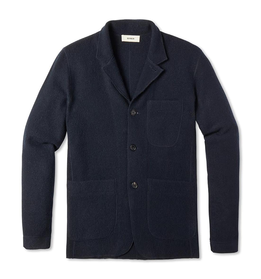 Buck Mason Felted Merino Chore Coat