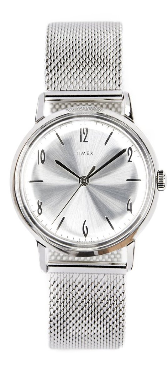 Timex x Todd Snyder Marlin Watch with Mesh Band
