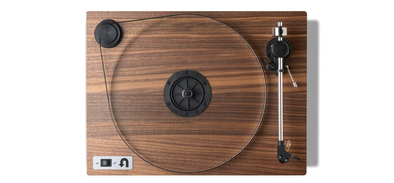 U-Turn Audio Walnut Turntable with Preamp