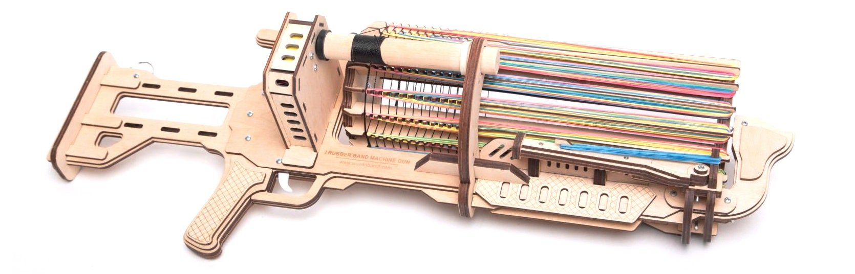 Wood n Boom Rubberband Machine Gun