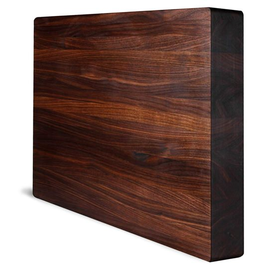 Kobi Blocks Walnut Edge Grain Butcher Block
