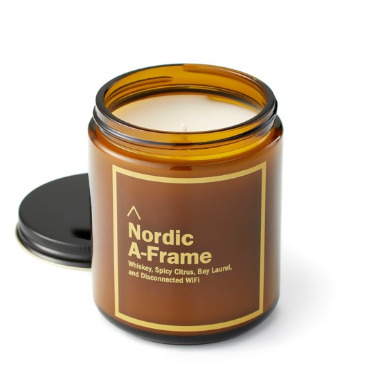 Huckberry A-Frame Cabin Candle