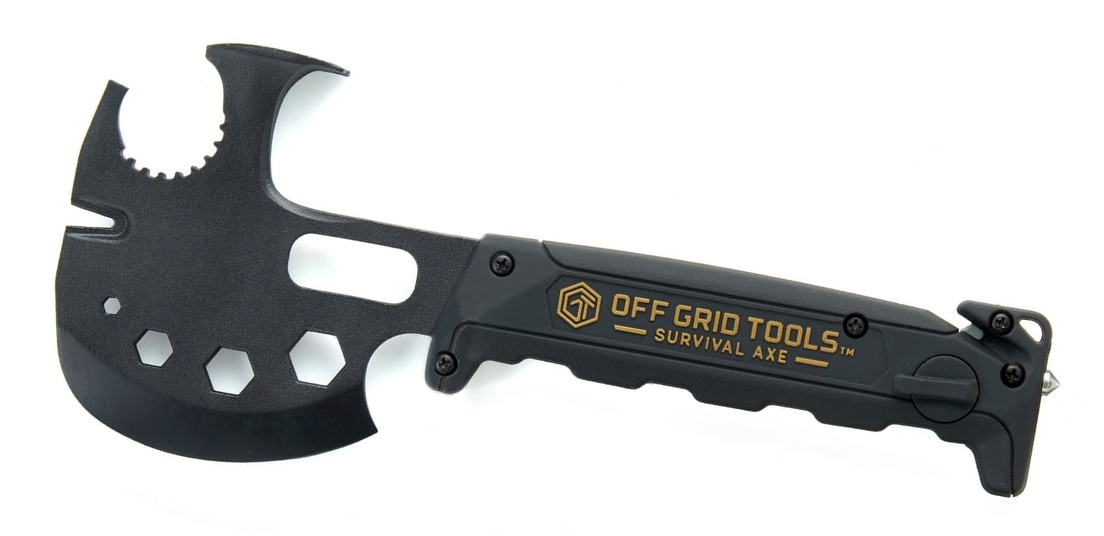 Off Grid Tools Survival Axe Multi-Tool