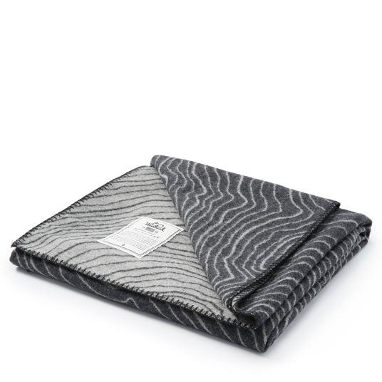 Woolrich Topo Jacquard Wool Blanket