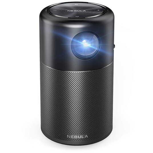 Anker Portable Projector with 360 Speaker