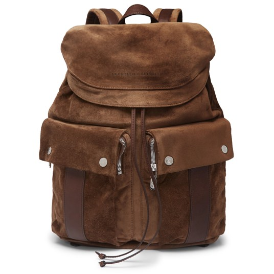 Brunello Cucinelli Suede Backpack