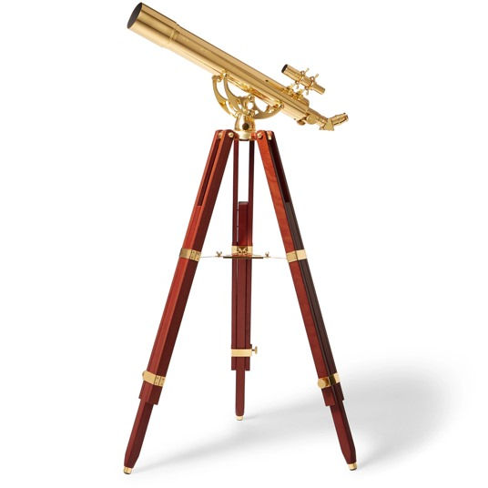 Celestron Brass and Beech Wood Telescope