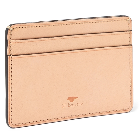 Il Bussetto Polished Leather Cardholder