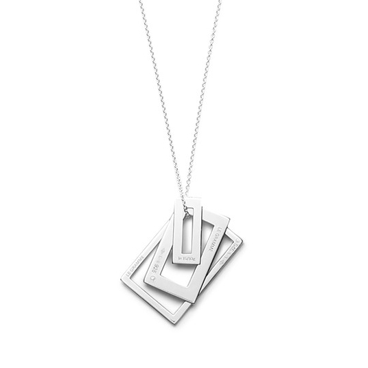 Le Gramme Medallion Sterling Silver Necklace