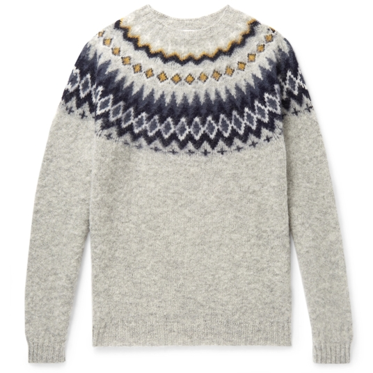 Norse Projects Fair Isle Sweater