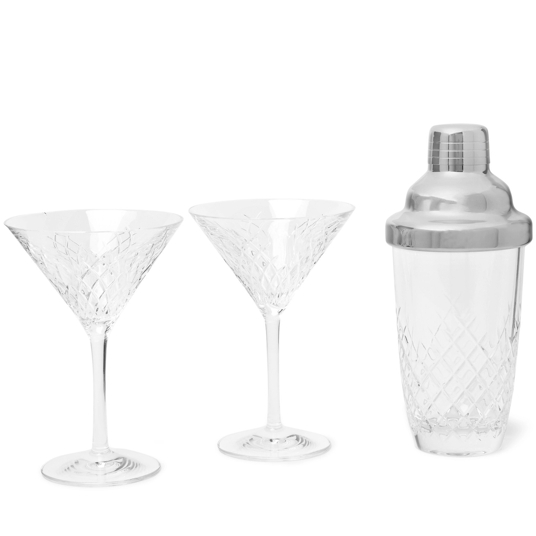 Soho Home Cut Crystal Martini Set