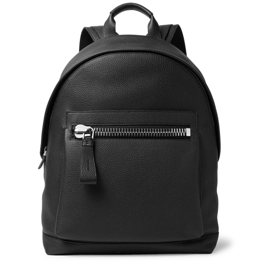Tom Ford Pebble-Grain Leather Backpack