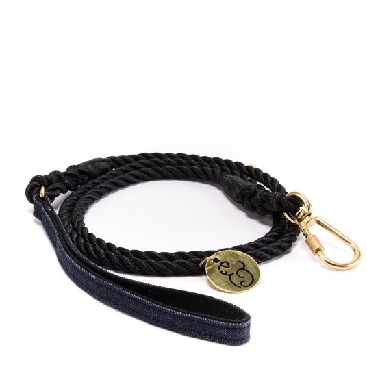 Found My Animal Vintage Denim Rope Leash