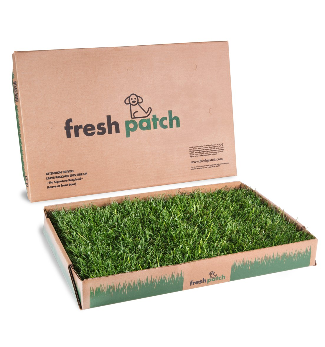 Fresh Patch Real Grass Disposable Potty Patch