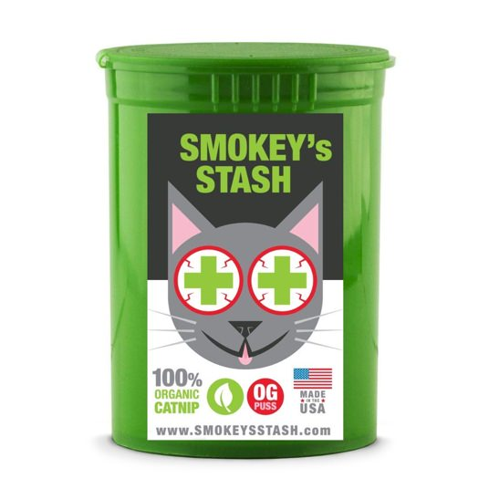 Smokey's Stash Organic Top-Shelf Catnip