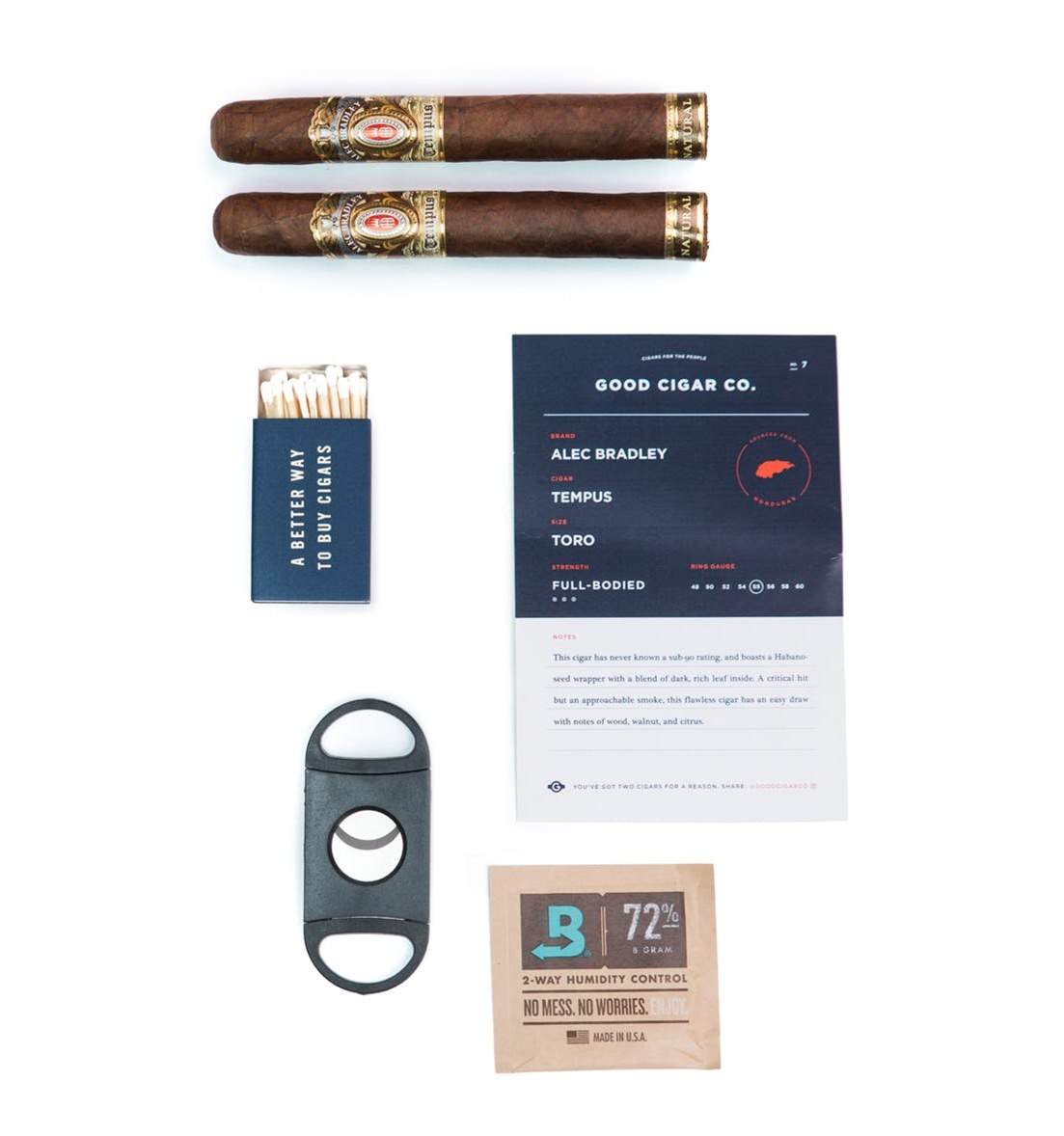 Good Cigar Co. Cigar Starter Kit