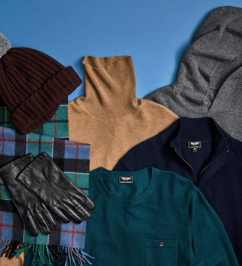 Todd Snyder holiday gift guide for men