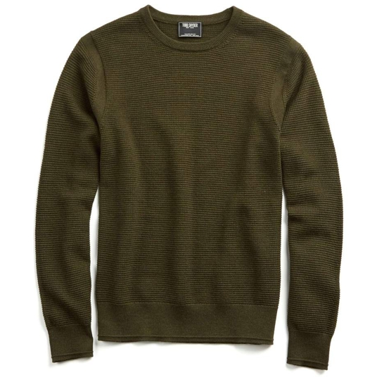 Todd Snyder Merino Waffle Sweater