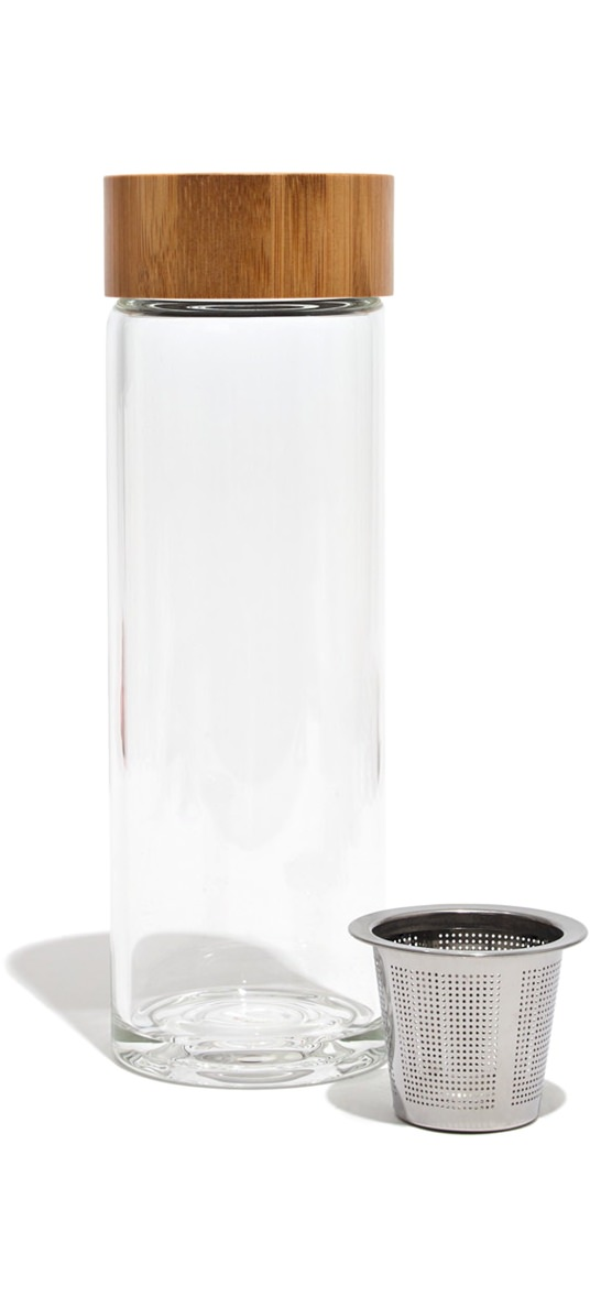 Kikkerland Zen Tea Infuser Bottle