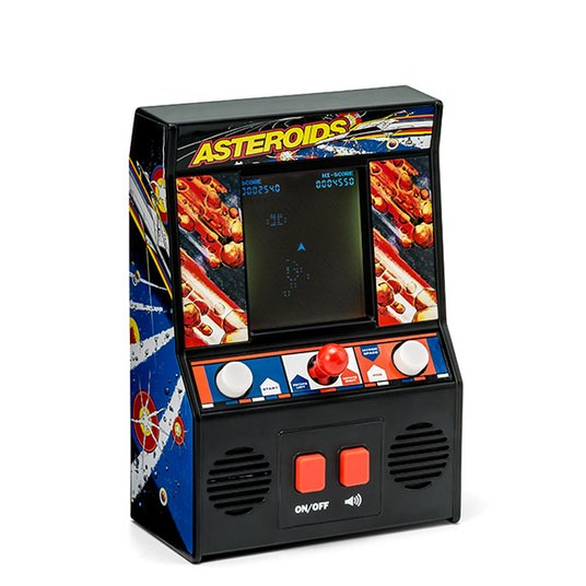 Think Geek Asteroids Mini Arcade Game