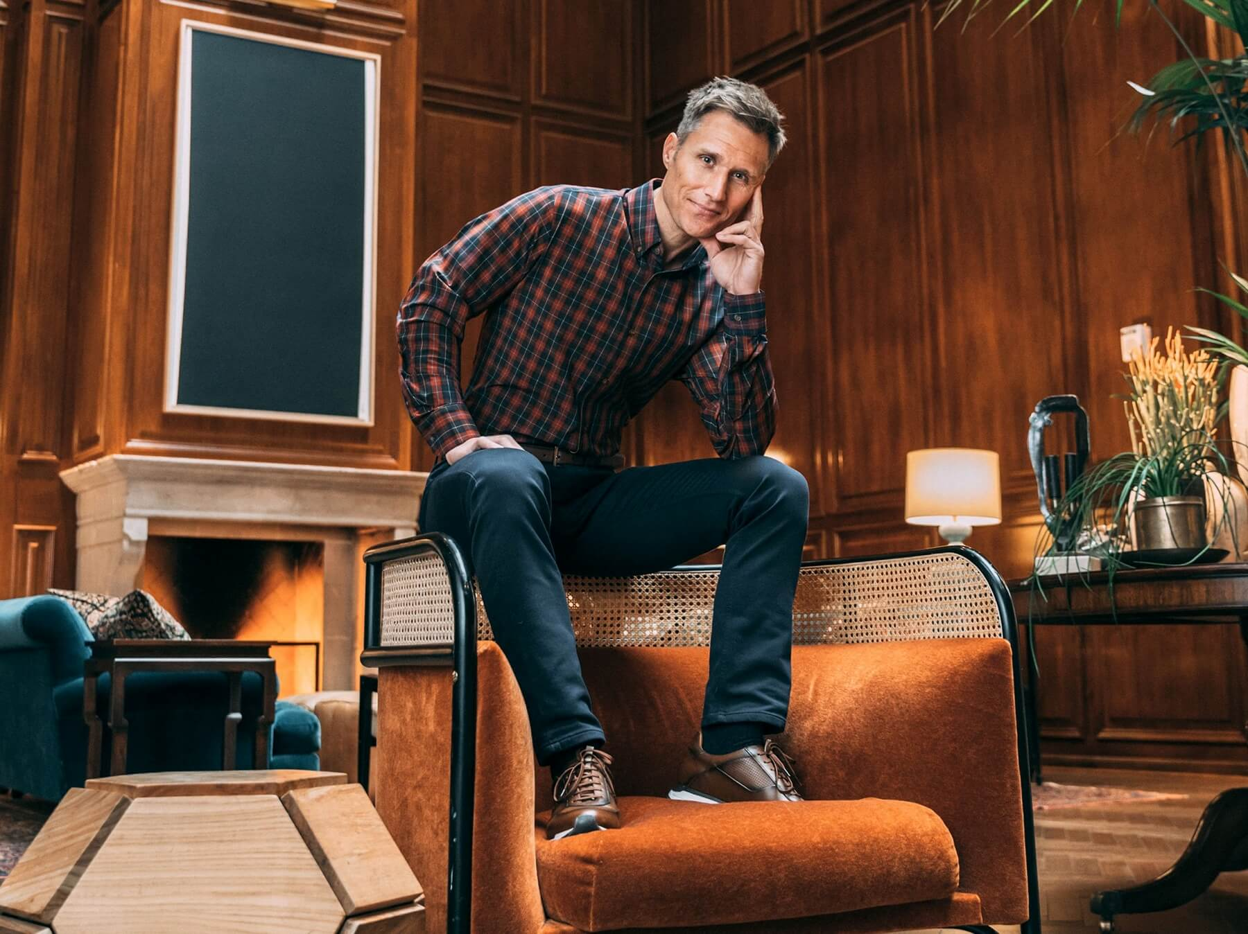 Mizzen+Main holiday gift guide for men