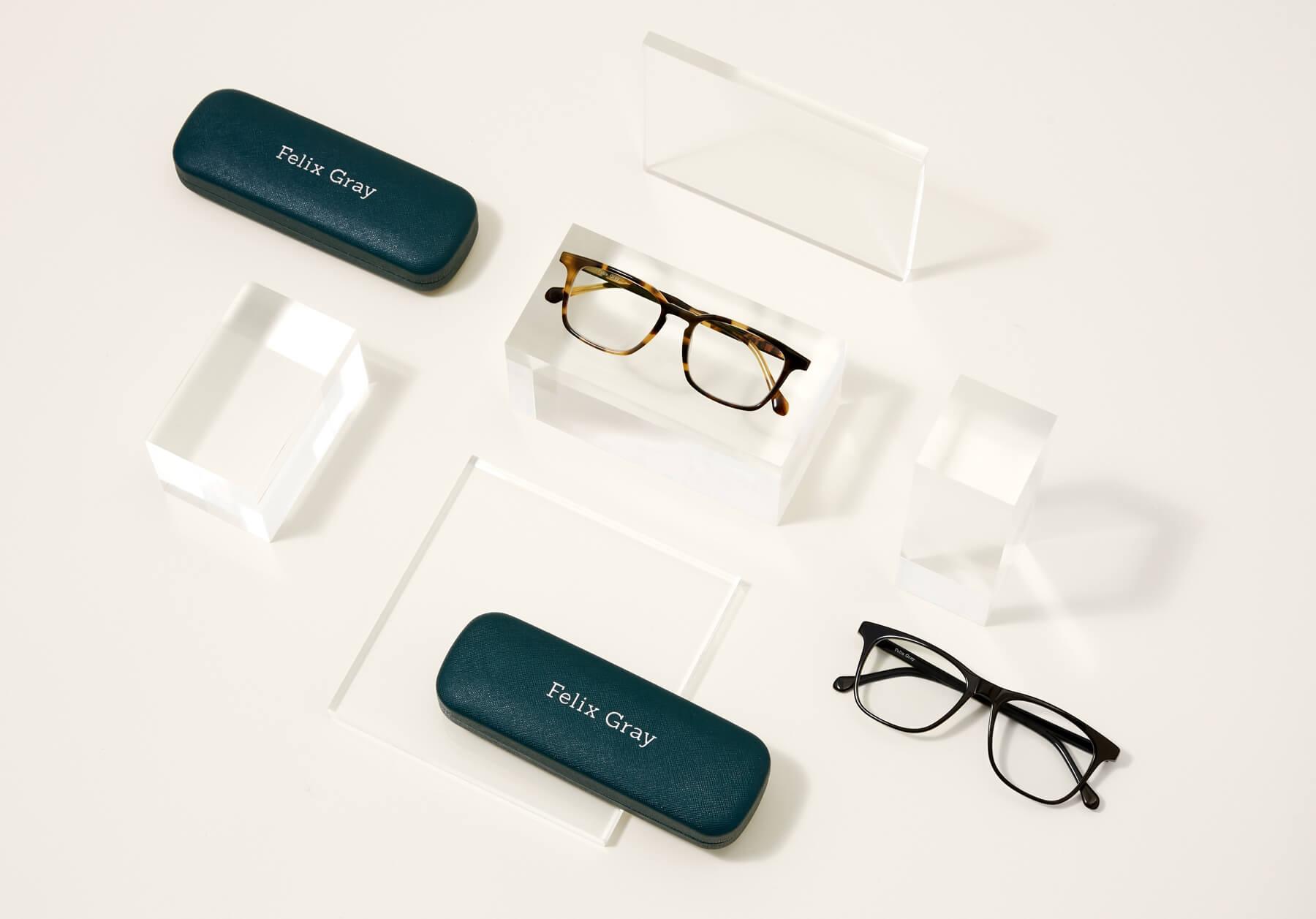 Felix Gray blue light filtering optical glasses