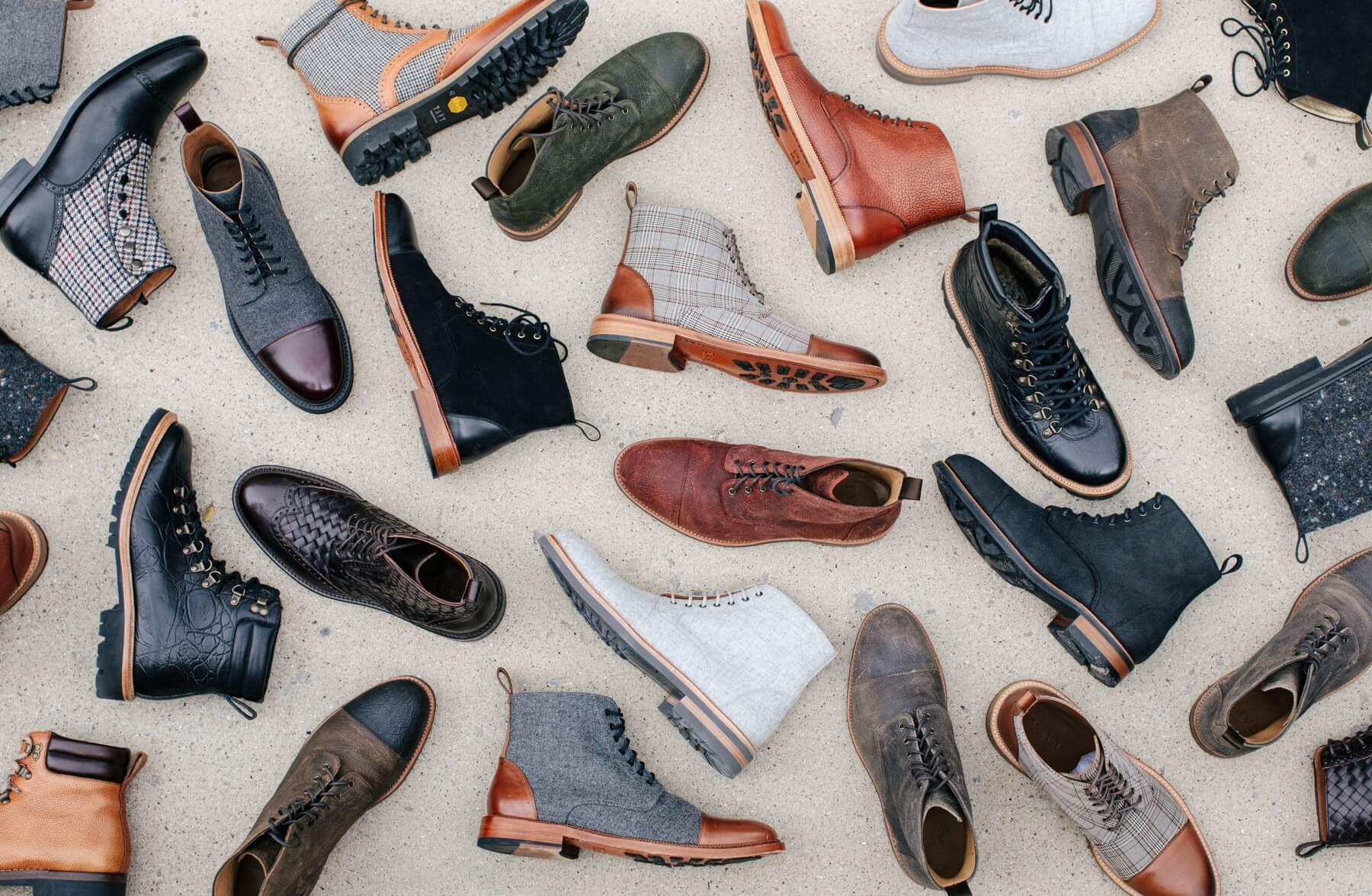 TAFT men's leather footwear
