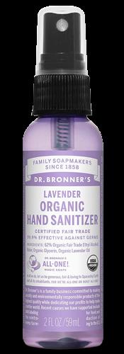 Dr. Bronner's Organic Lavender Hand Sanitizer