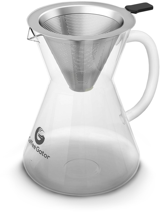 Coffee Gator Pour Over Carafe