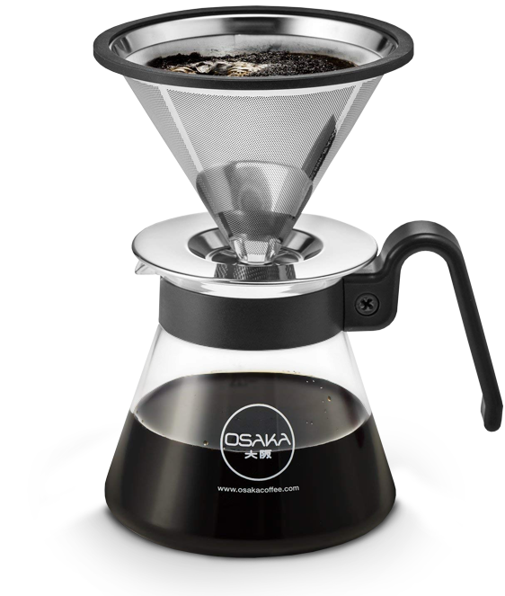Osaka Pour Over Coffee Brewer