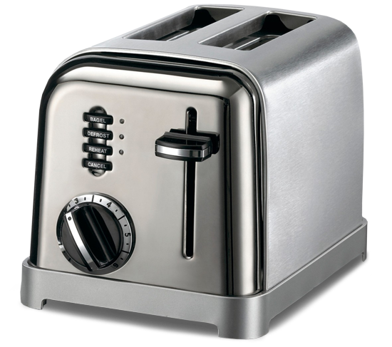 Cuisinart Brushed Stainless Toaster