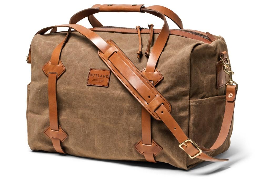 Bexar Goods Co. Waxed Canas LAND Duffel Bag