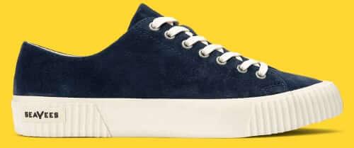 SeaVees Darby Sneaker Bright Navy Suede