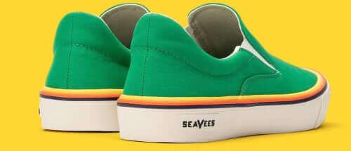 SeaVees Hawthorne Pride Poplin Twill Emerald