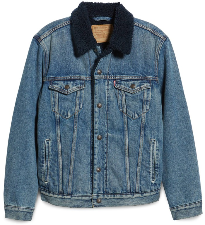 Levi's Men's Faux Shearling Trucker Jacket