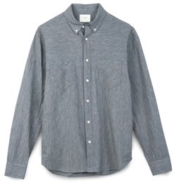 Billy Reid Chambray Shirt
