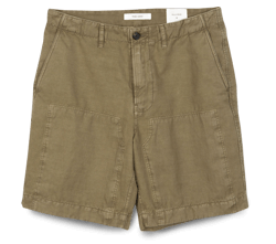 Billy Reid Cotton and Linen Shorts