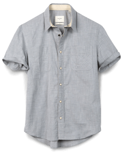 Billy Reid Snap-Button Shirt